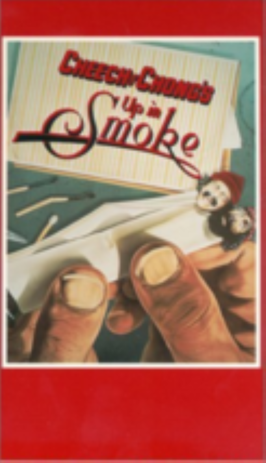 Up in Smoke Vhs