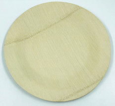 """Pack of 24 11"""" Round Disposable Bamboo Veneer Dinner Picnic Plates   - $29.99"""