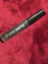 Rimmel London Stay Matte Liquid Lip Colour, Pitch Black. NEW - $15.72