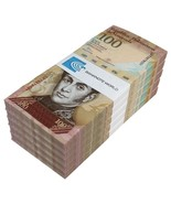 Venezuela 100 Bolivares X 500 Pieces (PCS), 2015, P-93k, UNC, Half Brick - €226,66 EUR