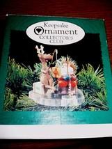 Hallmark Ornaments Fishing For Fun Reindeer & Santa Fishing 1995 - $9.89
