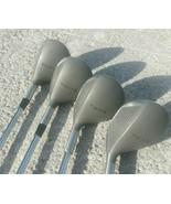 Trifix Ultra Rob W-10 Metal Woods #3,4,5,6 Taipei Steel Shafts - $52.74
