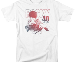 Rocky Retro 70's 80's Movie 40 Years Strong Rocky Balboa graphic T-shirt MGM372 image 2