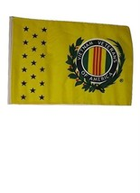 ALBATROS 12 inch x 18 inch Vietnam Veteran Vet Sleeve Flag for use on Bo... - $19.81