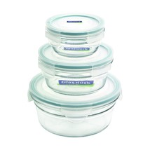 Glasslock 6-Piece Round Oven Safe Container Set - $33.44