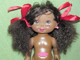 "AA 13"" 1992 Lil Miss SALLY SECRETS Vintage Sticker Doll Mattel African A... - $23.33"