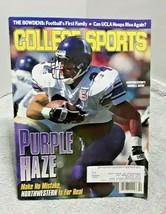 College Sports Magazine October 1996 Darnell Autry Northwestern - $11.87