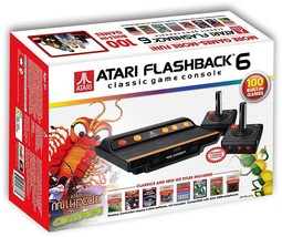 Atari Flashback 6 Classic Game System with 100 Games - $80.58