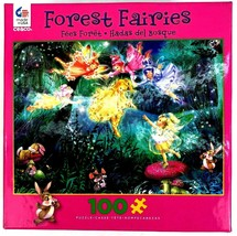 Forest Fairies 100 count piece puzzle USA-made by Ceaco 15x11 - $9.89