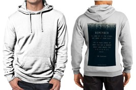 Quotes Stephen Hawking Classic Hoodie Men's White - $30.85+