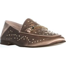 Nine West Westoy Studded Round Toe Loafers, Light Natural, 7.5 US - $36.47