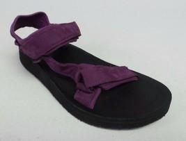 New Teva Women's Original Universal Premier Leather - Dark Purple - Size 7 - $61.33