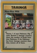 Moo-Moo Milk - Pokemon Colllectible Card Game - Trainer - 2000 - 101 - T... - $1.08