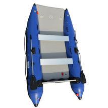 BRIS 11 ft Inflatable Catamaran Inflatable Boat Dinghy Mini Cat Boat Blue  image 10