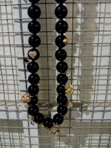 Kate Spade Black Grandma's Closet Long Necklaces - $81.18