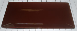 Large Brown Decorative Serving Tray Rectangle P... - $12.58