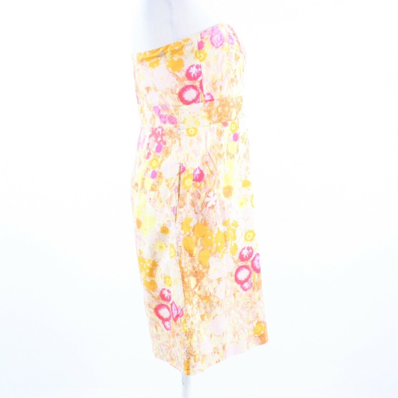 Multicolor floral print 100% cotton J. CREW sun dress 6 image 5