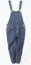 Levis Heritage Bib Overalls Size M Blue Dark Wash Denim Tapered Leg  - $48.02