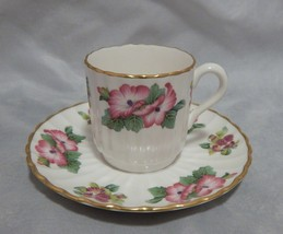 Spode Danbury Mint Demitasse Cup and Saucer Set - $9.41