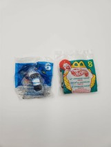 Mcdonalds Happy Meal Toy Lot of 2 Hot Wheels Nascar 1998 and Eclipse 2001 - $5.93