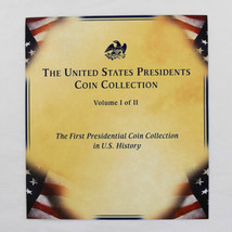 23 Presidential Dollar Coins & 46 Stamp Collection ~ 3-Ring Binder ~ UNC - $62.86