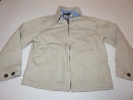 Ralph Lauren Boys Jacket Khaki lightweight size 5 - $16.79