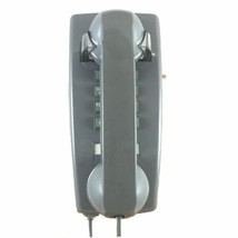 Gray Wall Vintage Telephone Retro Push Button Dial Corded Phone Kitchen ... - $64.99