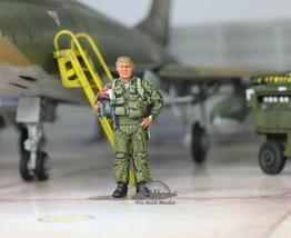USAF Fighter Jet Pilot for F4 A4 F100 F105 F111 A37 1:48 Pro Built Model... - $24.73