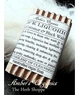 Organic Black Liquorice & Black Walnut Travel/Guest Soap Handmade - $2.10