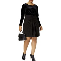 MICHAEL Michael Kors Women's Plus Velvet Knee-Length Party Dress - 2X - $29.00