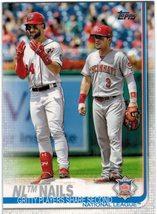 2019 Topps #145 NL Nails - Bryce Harper / Scooter Gennett - Baseball Card - $0.80