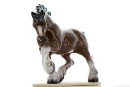 Hagen Renaker Miniature Draft Horse on Base Ceramic Figurine image 7