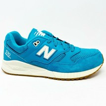 New Balance 530 Classics 90s Leather Blue Atoll Womens Running Sneakers W530AAH  - £49.44 GBP