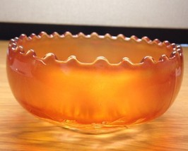 Beautiful Dugan Carnival Glass Marigold Golden ... - $18.80