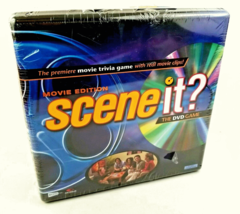 Scene It!  Movie Edition DVD Game Movie Trivia Collector's Tin NEW SEALED - $12.82