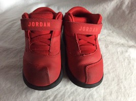 Jordan  School Sneaker Red/ Black  Size 8 C - $29.69