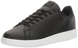 adidas Men's Cloudfoam Advantage Clean Shoes, Black/Black/White, (Size 8... - $76.13