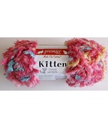 Premier Kitten Yarn 100% Polyester 1.75 Ounces/50g 80 Yards Lollipop Col... - $5.93