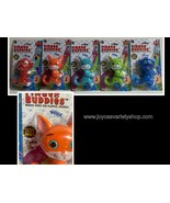 """Finger Buddies Lights Up Ten Sounds 4"""" Dogs, Cats Color Variety - $7.99"""