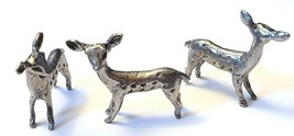 FAWN FINE PEWTER FIGURINE - Approx. 1 inch tall  (T179)