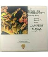 The Longines Symphonette Campfire Songs Ken Carson LWS149 LP 33 Stereo - $11.56