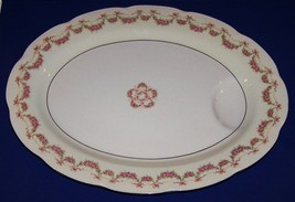 "Theodore Haviland New York Hamilton 16"" Large Oval Meat Serving Platter Juice - $23.75"