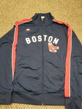 Boston Red Sox Nike Cooperstown Collection Long Sleeve Zip-Up Track Jack... - $27.71