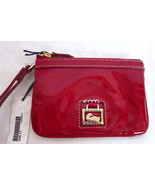 Dooney & Bourke Red Patent Leather Wristlet 2Z08 NWT - $68 Retail - $53.00