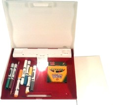 CHILDREN'S CRAYOLA ILLUMINATED TRACING DRAWING TABLET LAP TABLE W/ CRAYO... - $14.95