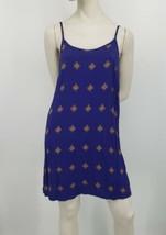 Mossimo Summer Dress/Cove-Up Size Medium Spaghetti Straps Scoop Strappy ... - $12.37