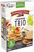 Pepperidge Farm, Crackers, Trio Variety, 10 oz., Box - $9.75