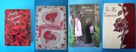 "(4) Valentines Greeting Card Dolls 6"" 1997 Nrfb Lot 1 - $28.71"