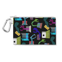 Monsters in Closets Canvas Zip Pouch - $14.99+