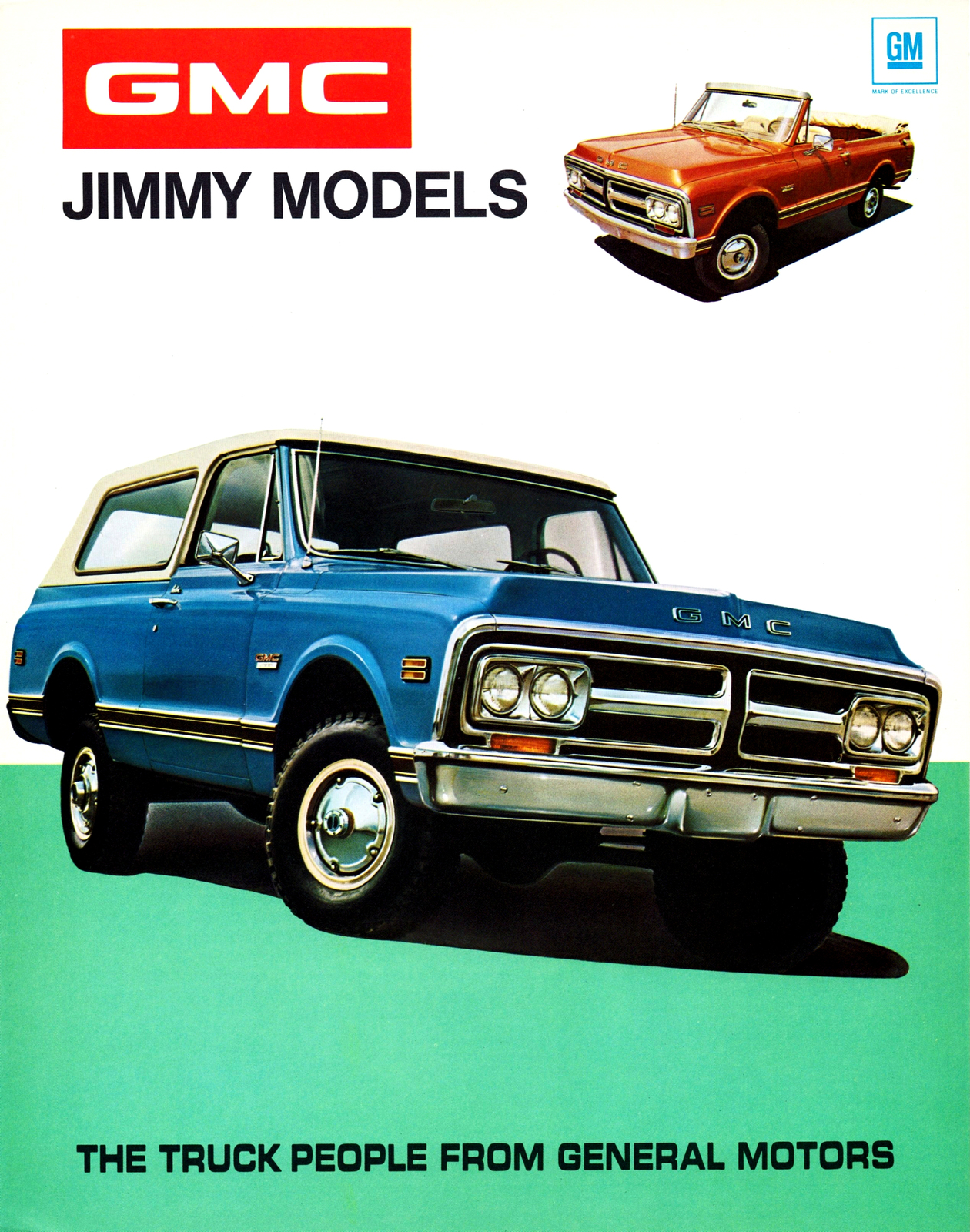 Primary image for 1971 GMC Jimmy | 24 X 36 inch poster